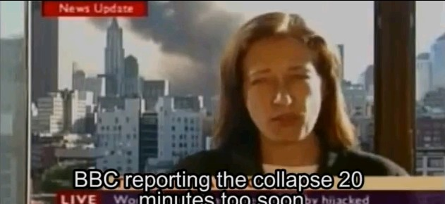 bbc reporting building seven collapse